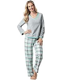 Fleece Pajamas Women Soft - Winter Pajamas for Women