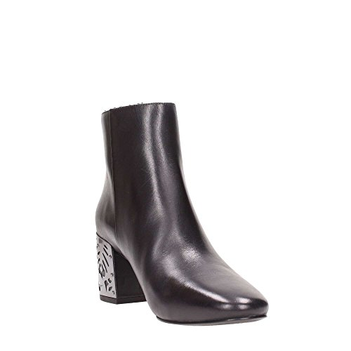 Noir For Bottines What WF012 Femme 8vIWBq