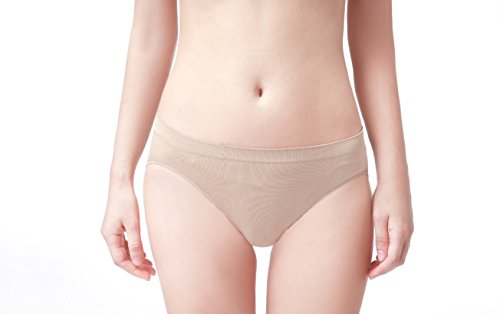 Ballet Panties (8C11 Professional Dance Briefs - Nude Color - X-Small Child)