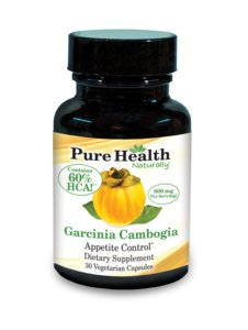 PureHealth Garcinia cambogia - Apetite commande 30 capsules végétariennes