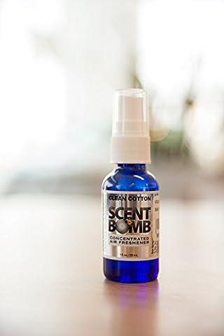 Scent Bomb Clean Cotton Scent (Scent Bomb Car Spray)
