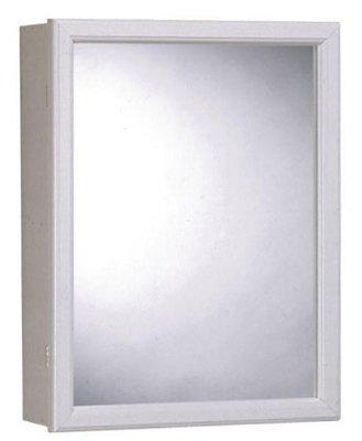 ZENITH PRODUCTS #PW16 16×20 White Medium Cabinet