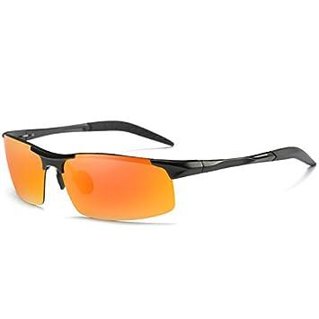 TIANLIANG04 hombres para gafas de sol polarizadas de aluminio para guiar a los hombres gafas polarizadas