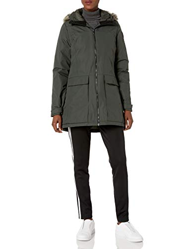 adidas Outdoor womens XPLORIC Parka Earth Large