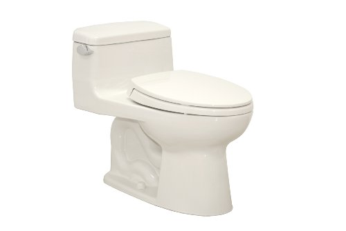 Toto Supreme One-Piece Elongated Toilet 1.28 GPF Colonial...