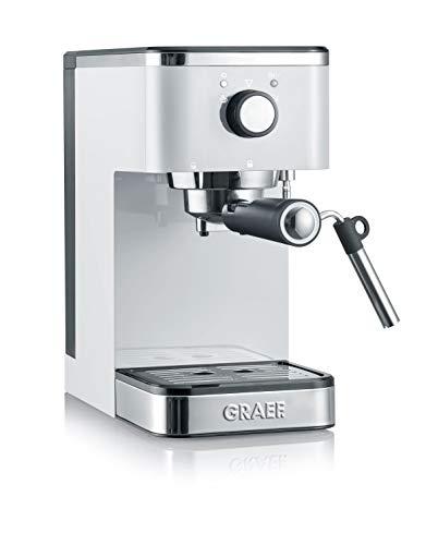 Graef Salita Cafetera Expreso, 1400 W, Blanco