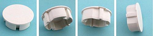 Steckel motif // h/ôtel prise multiple STECKEL lot de 4/couvercles de protection anti-poussi/ère couvercle pour des prises propres Schuko rallonge multiprise couvercle pour prise mural couvercle de protection anti-/éclaboussures