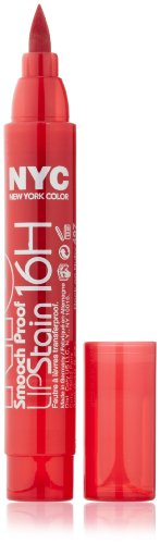 New York Color Smooch Proof Lip Stain, Rock On Ruby, 0.1 Fluid Ounce from New York Color