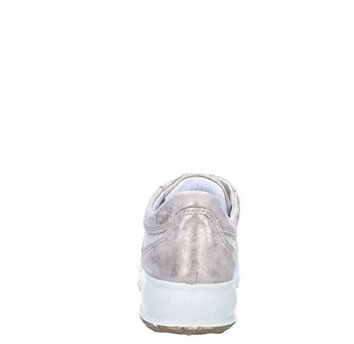 IGI Pelle in Sneakers 1146111 Taupe Scarpe Strass Donna Basse amp;CO 010AwrBq
