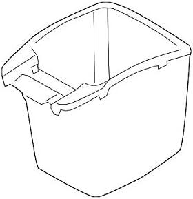 Arm Rest Console Storage Box Leatherette White For KIA 2014-2016 Sportage R