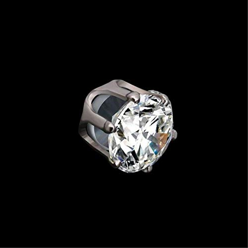 NiuChong Ear Nail Fat Burning Without Dieting Magnet Crystal Earring Ear Stud Valid Love it by NiuChong (Image #1)