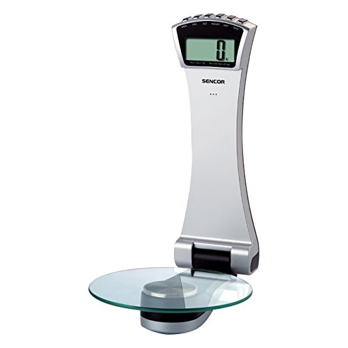 Sencor SKS 5700 Küchenwaage zur Wandbefestigung, 3 kg, Sensitivität 1 g, silber