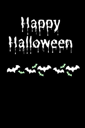 Happy Halloween: Notizbuch | Notebook | Helloween Party | Geschenk für Halloween | guest book | gift | present -