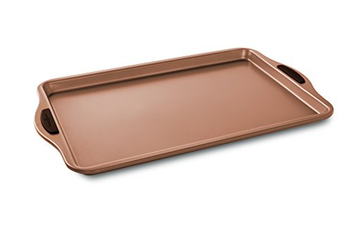 Nordic Ware 48043 Freshly Baked Cookie Sheet, 10' x 15', Copper