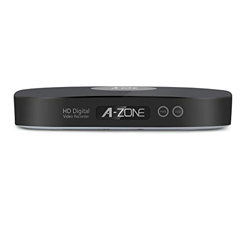 A-ZONE 8-Channel 1080p HD DVR with No Hard Drive