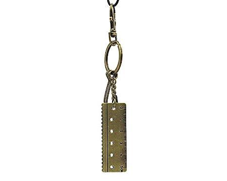LEEDY - Llavero de Metal con Regla de calibrador de Vernier ...