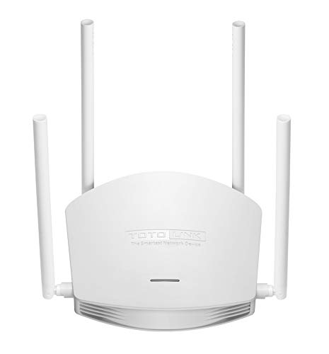 - TOTOLINK 600Mbps Wireless N Router, 2.4G high Speed Wireless Router (N600R)