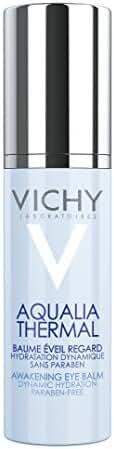 Vichy Aqualia Thermal Awakening Eye Cream with Pure Caffeine for Dark Circles and Puffiness, 0.5 Fl. Oz.