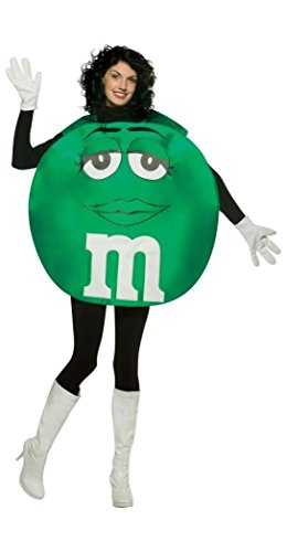 M&m Costumes Adults (Rasta Imposta M&M's Poncho, Green, Standard)