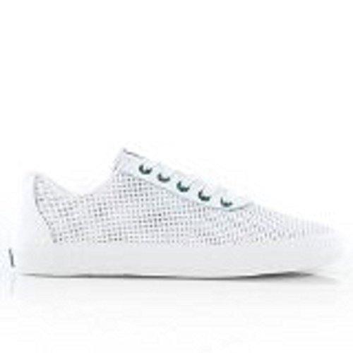 Supra Mens Cuttler Faible Blanc / Vert-blanc Taille8