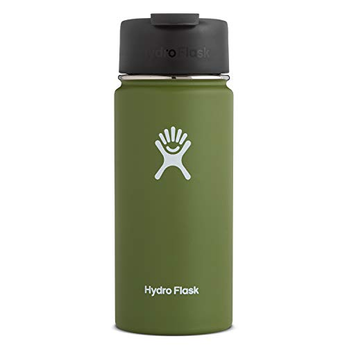Hydro Flask Travel Coffee Flask – 16 oz, Olive