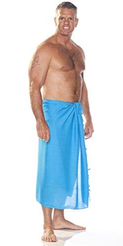 turquesa Unicolore de Sarongs hombres 1 mundo para Sarong vRHnqzwxqB