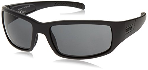 Smith Optics Elite Prospect Tactical Sunglass, Gray, Black (Smith Sunglasses Military)