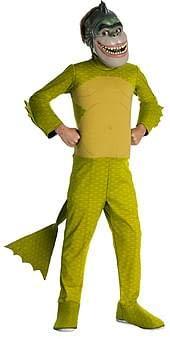 Monsters Vs. Aliens Child's Deluxe Missing Link Costume, Child Medium ()