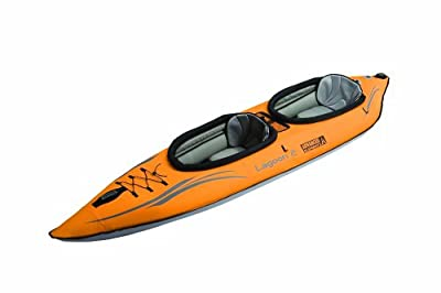 AE1033-0 Advanced Elements Lagoon 2 Person Inflatable Kayak by Advanced Elements