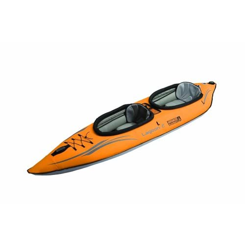 31t2B%2Bwl72L. SS500  - ADVANCED ELEMENTS Lagoon 2-Person Inflatable Kayak with Carry Bag and Repair Kit