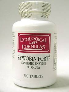 Ecological Formulas - ZyWobin Forte 200 tabs [Health and Beauty]