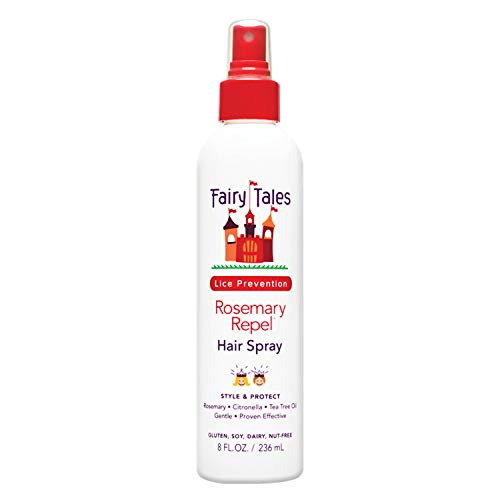 (Fairy Tales Rosemary Repel Daily Kid Hair Spray for Lice Prevention - 8 Fl.)