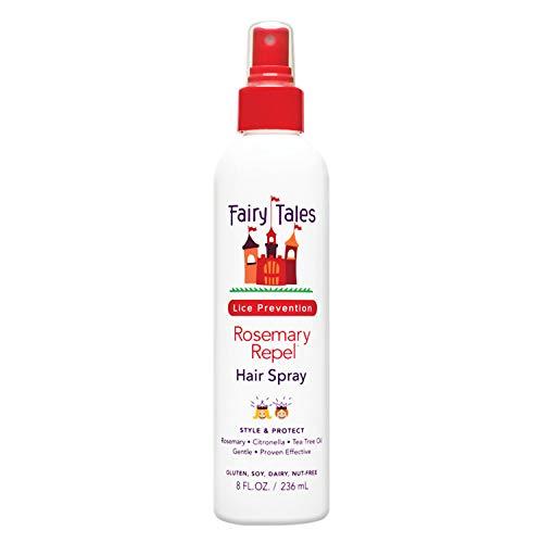 Fairy Tales Rosemary Repel Daily Kid Hair Spray for Lice Prevention - 8 Fl. Oz ()