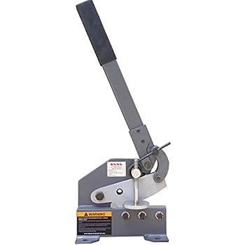 metal shear. kaka industrial hs-5 5-inch sheet metal plate shear, solid construction mounting shear