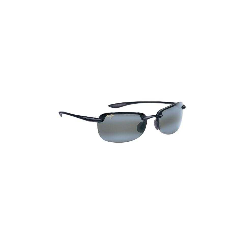 Maui Jim Sandy Beach 408 Sunglasses Color Black / Grey Lens Size Sunglasses