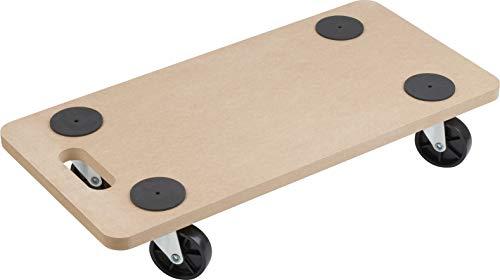 Transport Roller 590 x 290 mm, 200 kg, MDF, PP - Buy Online in Oman