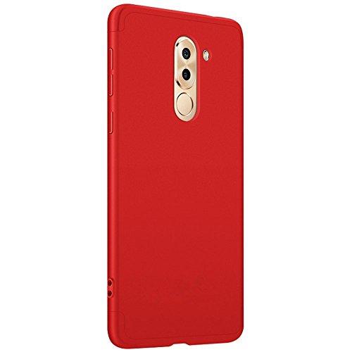 Coque Huawei Honor 6X,PC Anti-Choc Anti-Rayures Housse Rsistant Matte Cover Souple Protection tui Ultra Mince Case Huawei Honor 6X Miroir Bling Bumper Liquid Nior 4