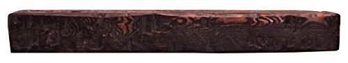 Solid Mahogany Fireplace Mantel (Dogberry Collections Solid Timber Mantel Fireplace Shelf, 60