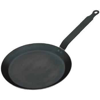 BLUE STEEL Crepe/Tortilla Pan 9.5-Inch