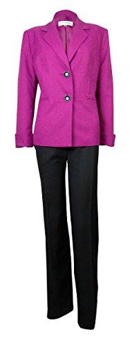 Evan Picone Women's Crepe Park Avenue Pant Suit