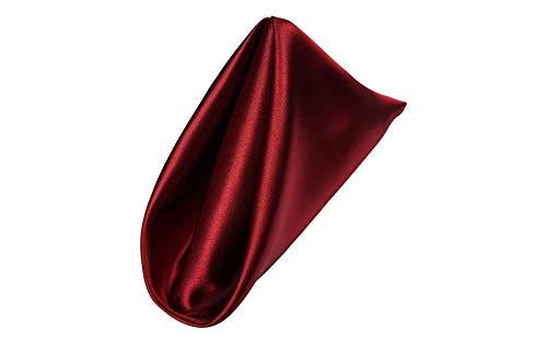 AGN Linen Satin Napkin 1-Dozen(18x18) (Cranberry) (Red Plum Linen)