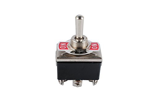 Femitu Heavy Duty Toggle Switch DPDT Center Off 6 Pin 15A 250VAC / 20A ()