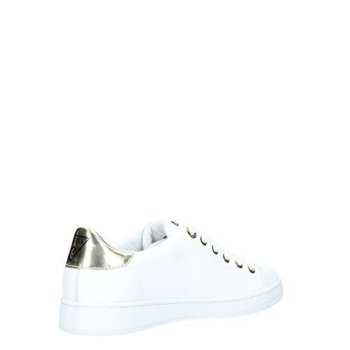 Blanc Carterr2 Femmes Les Blanc White Baskets Guess Mode Pour or z8Aq8d