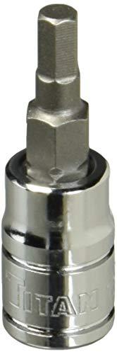 Titan 15604 1/4-Inch Drive x 4mm Hex Bit Socket