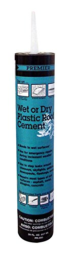 Henry PR350011 Wet Or Dry Plastic Roof Cement, 29 oz