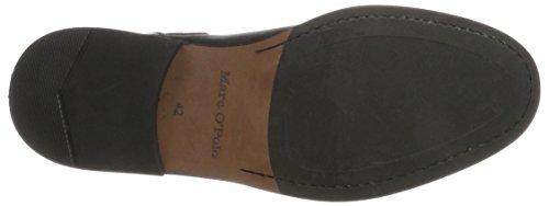 Marc OPolo Herren Flat Heel Chelsea 70823775001106 Boots Schwarz (Black)