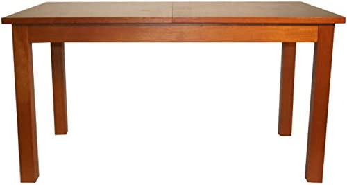 Joe - Mesa de comedor (madera maciza), color cerezo: Amazon.es ...