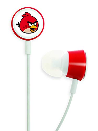 Gear4 HAB001G Angry Birds In-Ear Stereo Headphones - Red Bird Tweeters