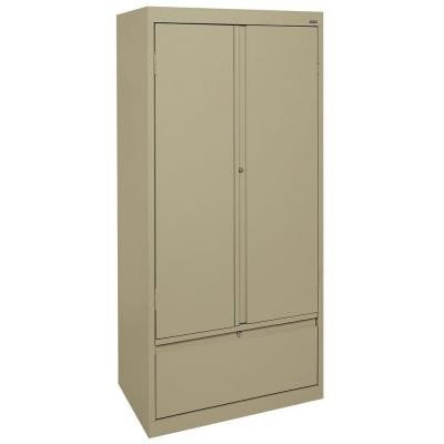 Sandusky Lee HADF301864-04 System Series Storage Cabinet with File Drawer, Tropic ()