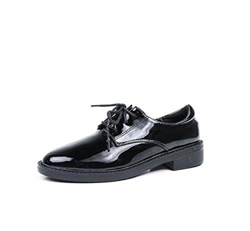 Schuhe Damenschuhe Damen 2018 Mode Lederschuhe Herbst Neue yPU7qP